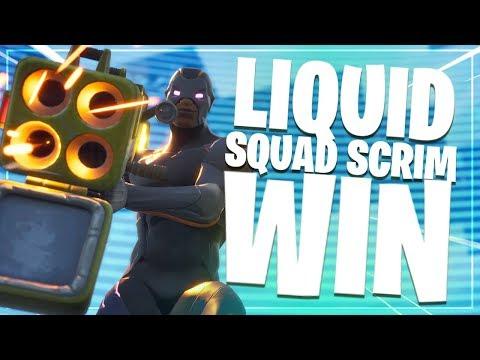 Liquid Squad Scrim Win! | Fortnite Battle Royale