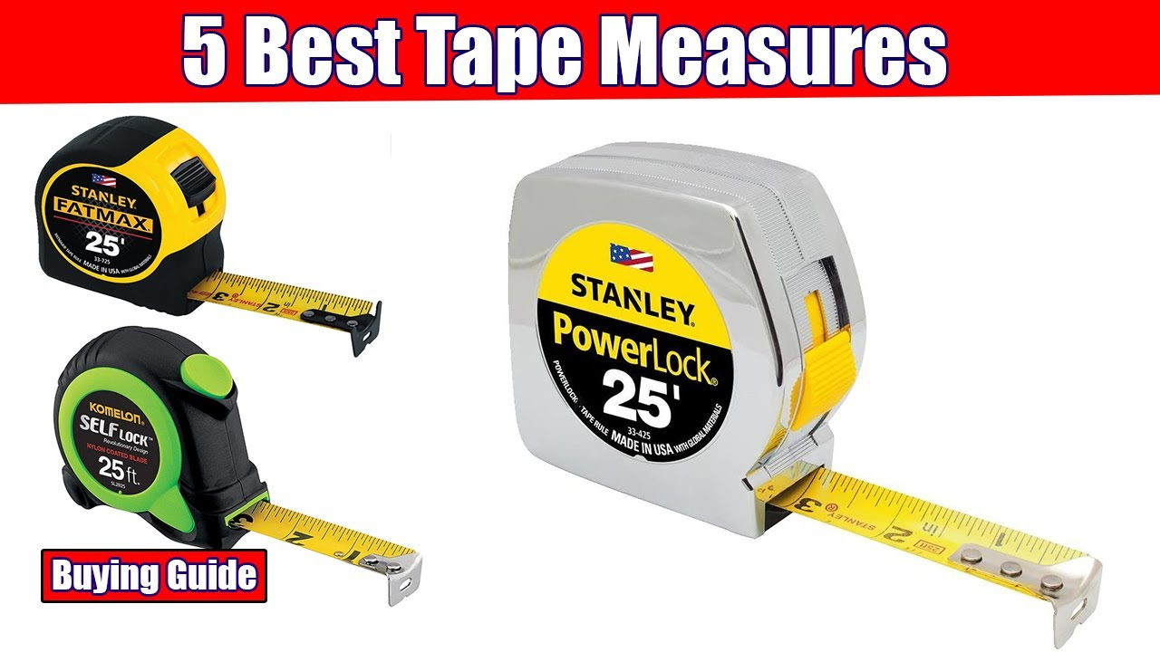 Best tape measure on the market midoli ladder