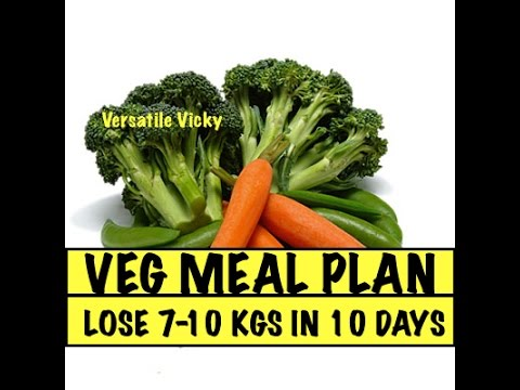 Lose Weight Fast 10 Kgs in 10 Days Veg Meal Plan | Lose Weight Quickly