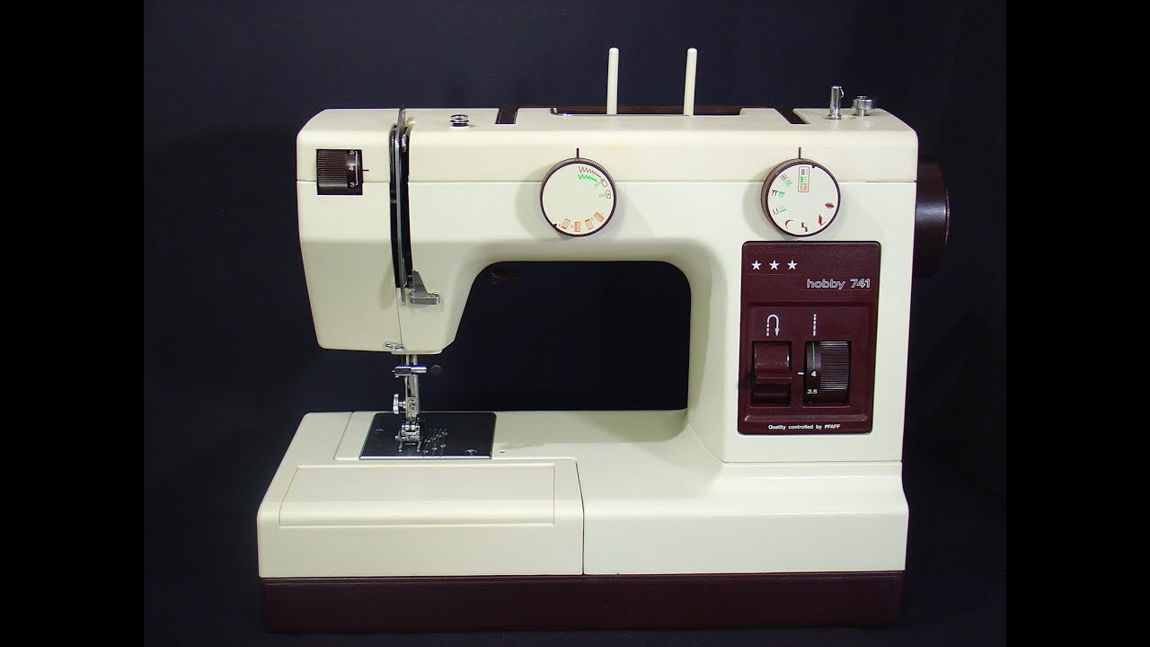 Pfaff Hobby 741 sewing machine - YouTube