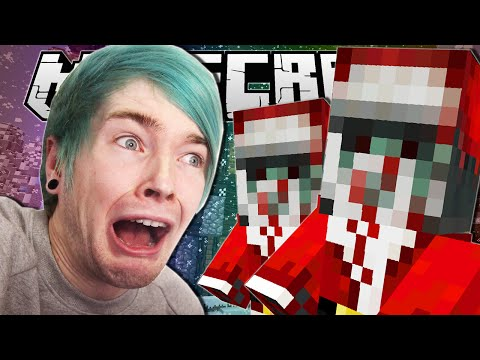 Minecraft | CHRISTMAS WAS TOO SCARY!! | Job for Christmas Custom Map