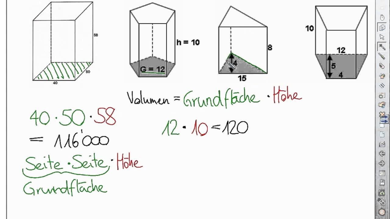 Volumen Berechnen. prisma online berechnen prisma volumen prisma ...
