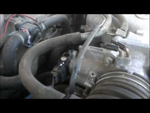 throttle position sensor replacement in a toyota tacoma  tps install vid  -  youtube