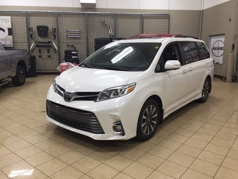 2018 Toyota Sienna Limited Review