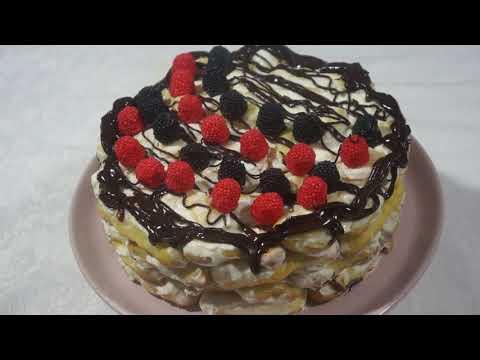 """Торт """" Дамские Пальчики"""" Нежный и Легкий"""