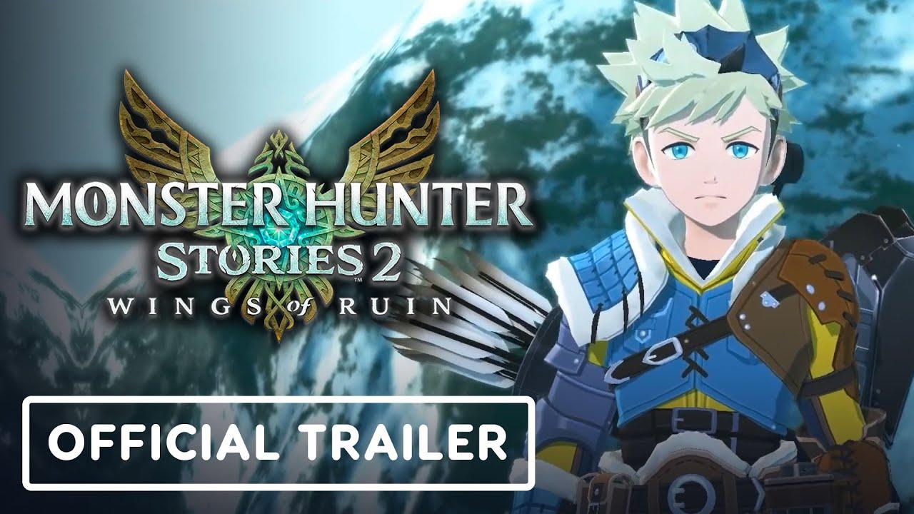 Monster Hunter Stories 2: Wings of Ruin - Official Trailer - IGN thumbnail