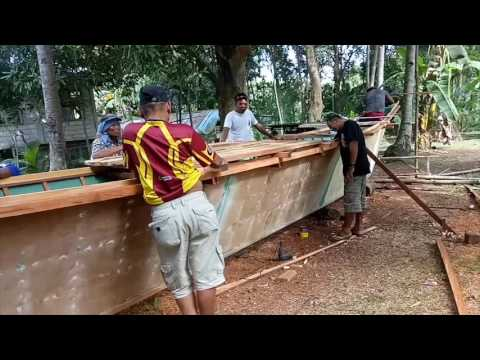 Building a Banca in the Philippines, final part