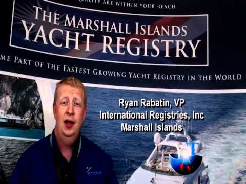 Yachting Today.TV interviews Ryan Rabatin from Marshall Islands Yacht Registry