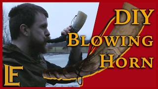 Lets Call in the troops - DIY blowing horn
