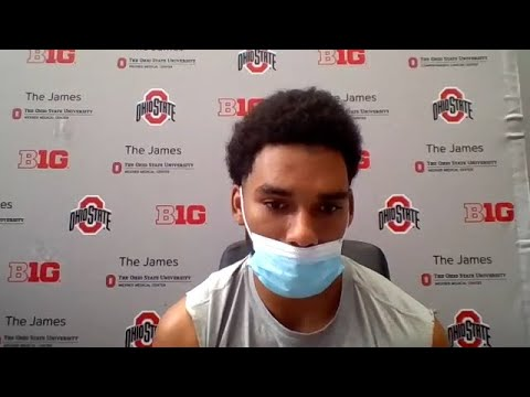 Ohio State Buckeyes Football Chris Olave Garrett Wilson Talk Buckeyes Preps For 2020 Youtube