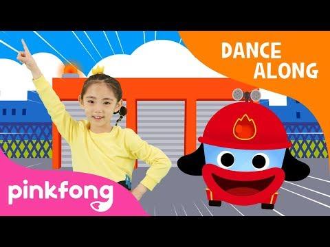 Hurry Hurry Fire Truck | Car Song | Dance Along | Pinkfong Songs for Children