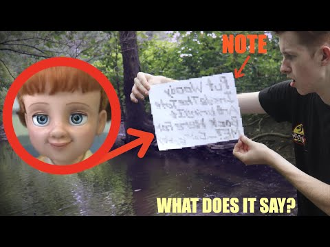 GABBY GABBY LEFT ME A NOTE IN REAL LIFE! *Toy Story 4*