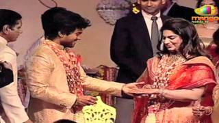 Rings Exchange - Ram Charan & Upasana Engagement