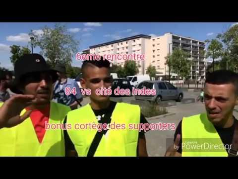 Le Cortege Des Supporters Des Indes En Direction Du 84... VOICI LE RESUME