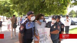 Ակցիան ավարտվեց՝ չսկսած․ ոստիկանները բնապահպան ակտիվիստներից որոշներին բերման ենթարկեցին