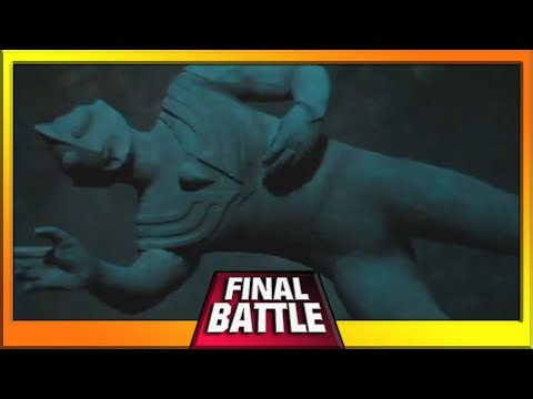 Ultraman Tiga Final Battle - Daigo Trapped In The Stone Statue !!