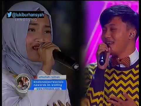 Fatin Feat Rizky Febian - We Don't Talk Anymore ON Indonesian Television Awards 2016, 15 9 16