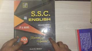 English books for ssc cgl