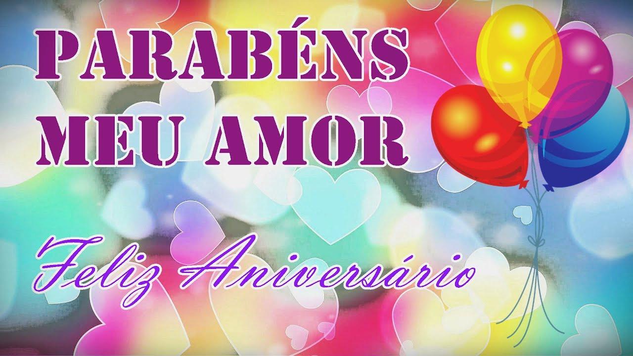 Mensagem de aniversário para namorado - Parabéns meu amor
