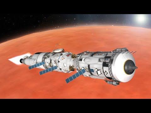 KSP: Multi-launch Duna Rescue Mission!
