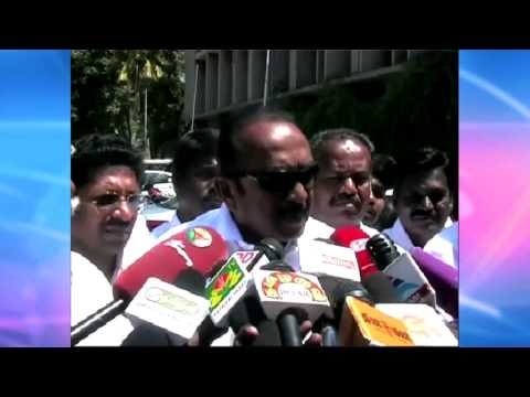 Narendra Modi is Visiting Sri lanka to Cheat the People of Indian and Tamils of Sri lanka - Vaiko