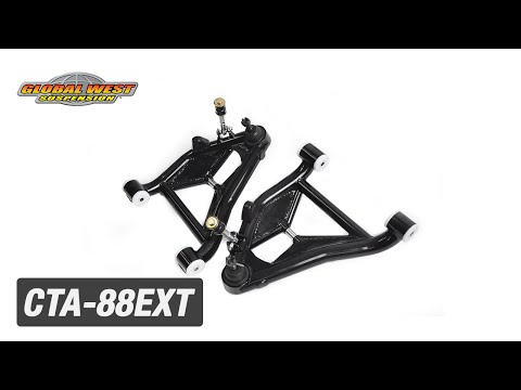(Extended Travel) Lower Control Arms for 1978-1988 G-Bodies or 1982-2002  S-10 #CTA-88EXT