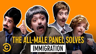 Can the Immigration Crisis Be Solved? These Men Think So - All-Male Panel