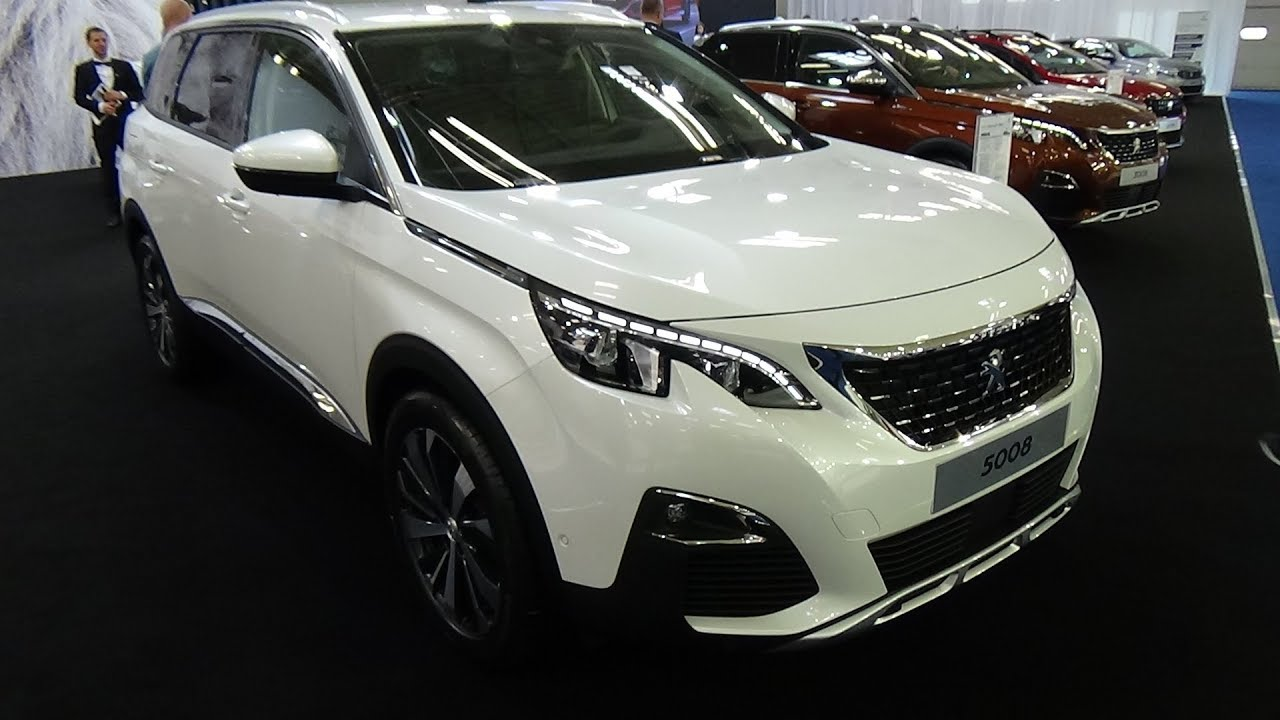 2018 Peugeot 5008 Allure 1 6 Bluehdi 120 Exterior And Interior
