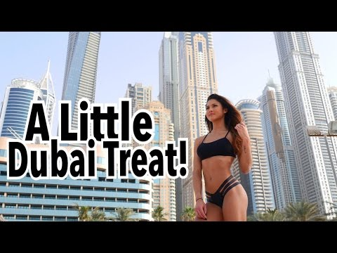 Dubai Buffet Treat Meal   Workout Commentary   How I Stayed On Track!   Dubai Vlog Series Ep.3