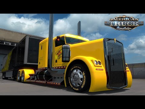 American Truck Simulator: New Mexico Customs Kenworth W900 - Albuquerque to Roswell