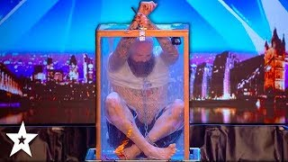 DANGEROUS AUDITION Nearly Goes Wrong!!! Will Matt Johnson Escape?! Britain's Got Talent 2018