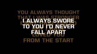 Video Secondhand Serenade   Fall For You Karaoke download MP3, 3GP, MP4, WEBM, AVI, FLV November 2018