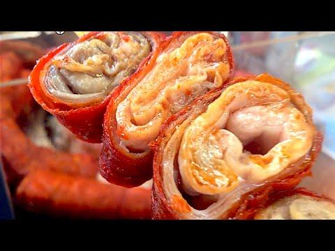Hong Kong Macau Chinese Street Foods - Chitterlings,Squids,Ducks,Chickens,Snacks,EggTarts