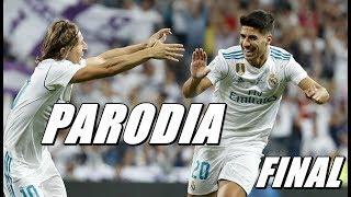 Canción  Real Madrid vs Barcelona 2-0 FINAL (Parodia Ozuna - Se Preparó)
