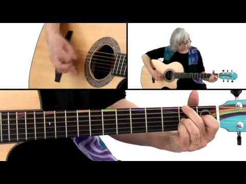 Bluegrass Guitar Lesson 28 Old Joe Clark Cathy Fink Youtube