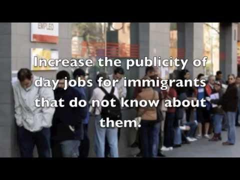 Immigration Unemployment in Canada Civics2014