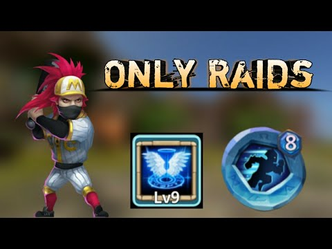 Ronin | Stealth As Insingia | 9/9 Revive | Only Raids | GamePlay | Castle Clash