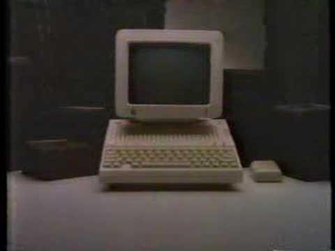 Apple IIc commercial - 1984