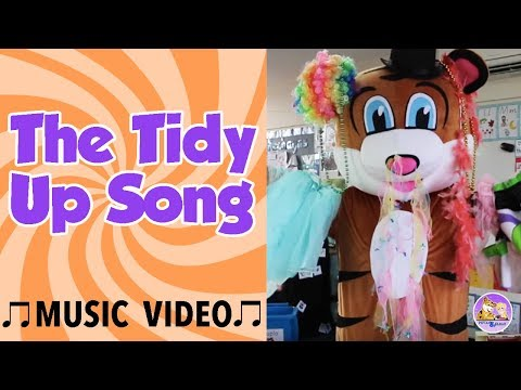 The Tidy Up Song | Music For Kids | Pevan & Sarah