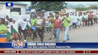 Kogi Moves To End Violence Against Children 09/09/18 Pt.2 | News@10 |