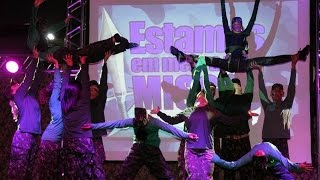 Ministério de Dança Louvor na Terra em Ação - Efésios 6