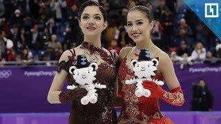 Загитова и Медведева об итогах Олимпиады
