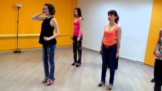 Женский стиль в кизомбе. Дарья Горбунова (школа танцев Boombox)