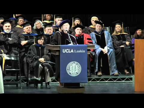 2011 Commencement Ceremony: UCLA Luskin School of Public Affairs