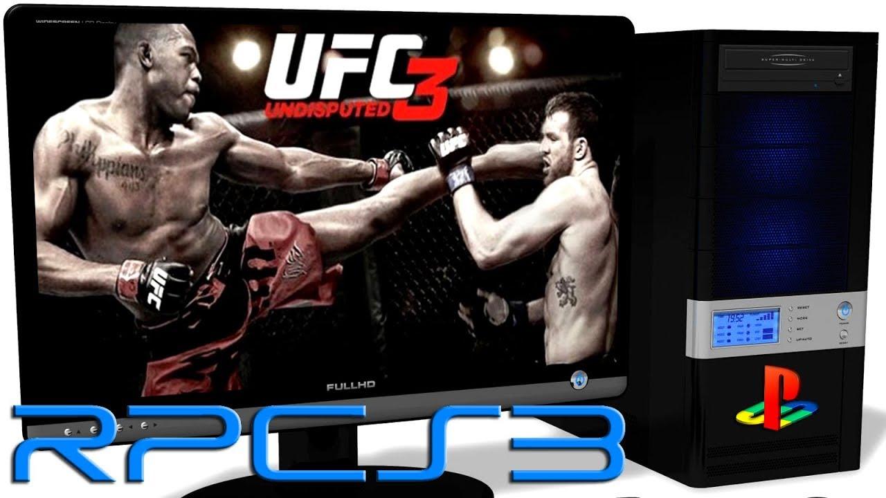 RPCS3 0.0.4 PS3 Emulator - UFC Undisputed 3 (Ingame) LLVM ... Ufc Undisputed 3 Ps3 Rom