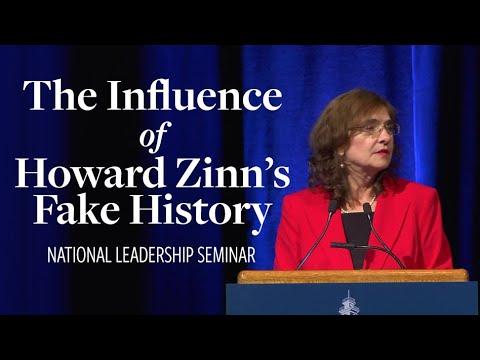 Mary Grabar, The Influence of Howard Zinn's Fake History   National Leadership Seminar