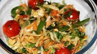 Delicious Salad: Thai-inspired Peanut And Papaya Salad W/ English Subtitles