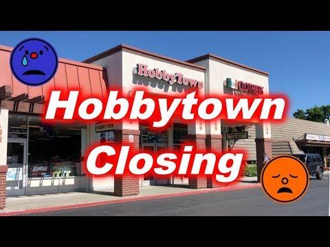 Hobbytown RC/hobby Store Closing (Sunnyvale, California)