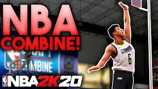 NBA COMBINE! W/ ZION WILLIAMSON, RJ BARRETT, & MORE! 2K20 MyCareer Ep.3