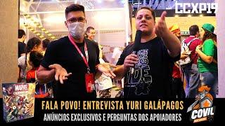Fala Povo! Entrevista Yuri Galápagos Jogos CCXP 2019